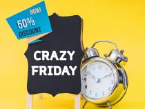 Crazy Friday : comment créer l'événement chez les e-commerçants et favoriser le trafic in-store ?