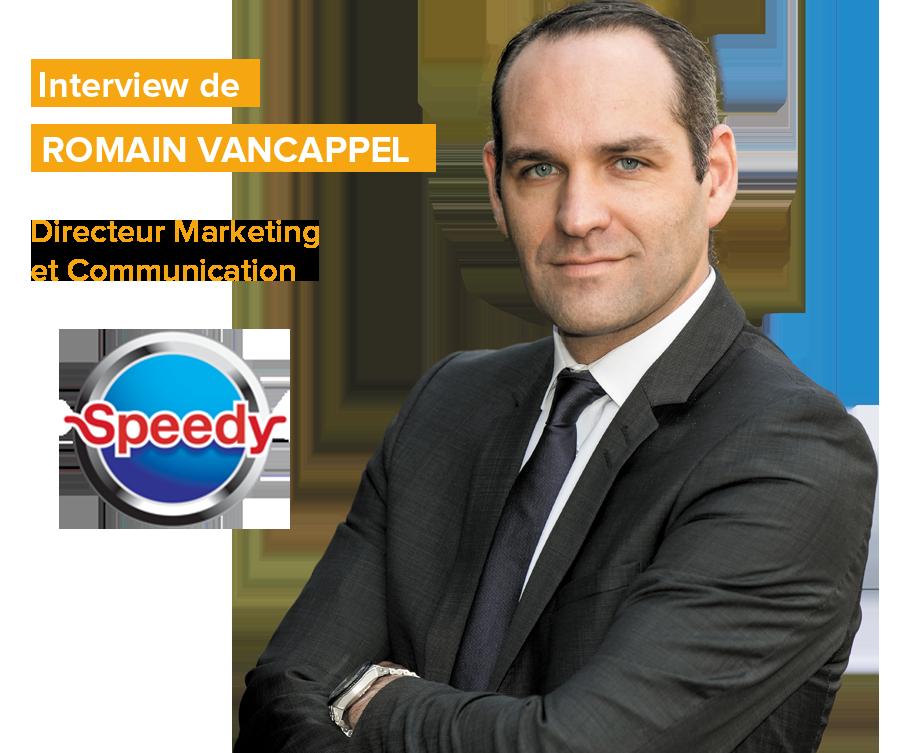Entretien avec Romain Vancappel - Speedy