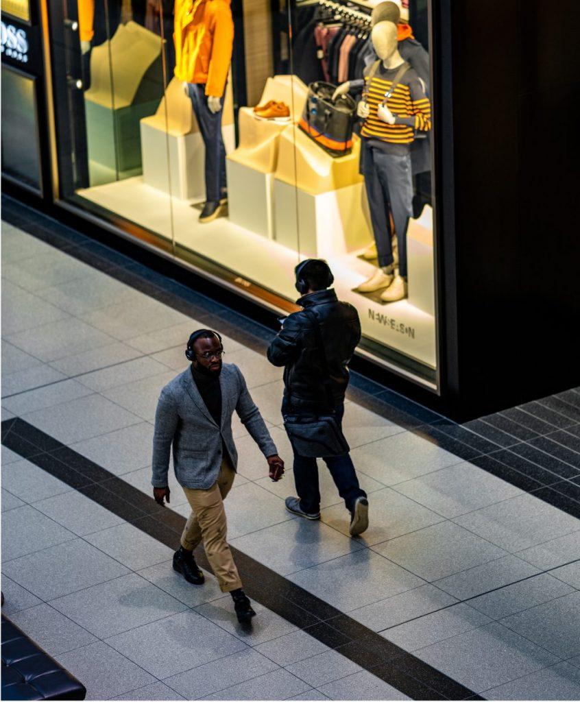 Wifi dans les centres commerciaux