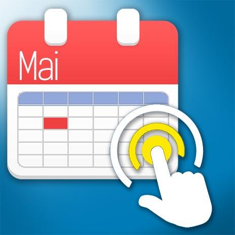 calendrier clic sur mois de mai